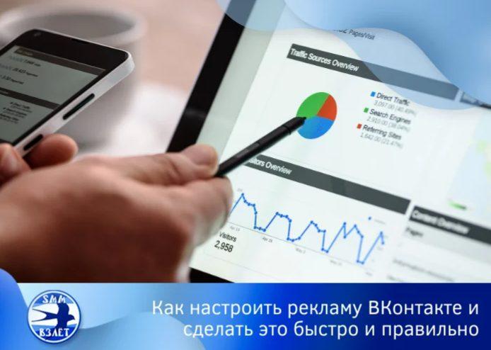Как запустить рекламу ВКонтакте и сделать это быстро и правильно